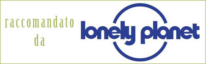 "Raccomandato da ""Lonely Planet"""